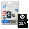 MICRO SD HP 32GB CLASS 10 UP TO 95MB/S WITH ADAPTER