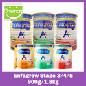 ◄ ENFAGROW ► A+ Milk Powder Stage 2/3/4/5 ★ Best Choice for Mums ★ Higher DHA ★ 1.8kg / 900g available