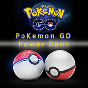 Pokemon Go Baymax Powerbank Poke Ball 12000mAH Power Bank Portable iPhone Pikachu Battery Charger