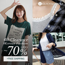 CLICKnFUNNY 🍂  [~70%] Clearance SALE 50 Type Collection  / Korea Fashion / Free Shipping