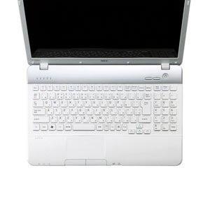 【クリックでお店のこの商品のページへ】キーボードカバー NEC ノートパソコン用 エレコム NEC LaVie Sシリーズ用 キーボード防塵カバー/クリアー☆PKB-98LS2★ 送料無料