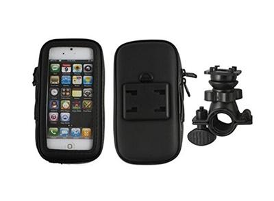 【国内発送】自転車 バイク用マルチホルダー iPhone・スマートフォン・携帯電話に対応の画像