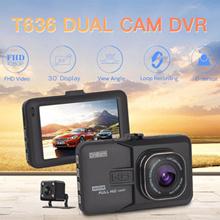 2017 Newest Mini Car DVR Camera Camcorder Dual Lens Dash Cam 1080P Full HD G-sensor Night Vision