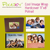 Cool Image Wrap Hardcover 11 inch X 8 inch Potrait / 40page