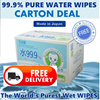 【Xmas DEAL Carton Deal-FREE DELIVERY 】★ LEC 99.9% Pure Water Wipes Baby Wet Wipes ★ Wet Tissue ★ Value Pack ★ Carton Deal ★ Made in Japan ★