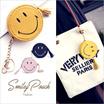 【送料無料】Sweety財布 タッセル ポーチ スマイル ニコちゃん Coin Purse 激安 かわいい 黄色 黒 ピンク コインケース #8D21