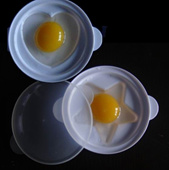 Microwave Egg Cooker/Boiler/Fried-egg Fun and smart Living!