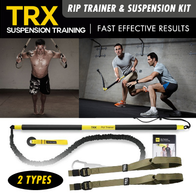 TRX Rip Trainer / TRX Suspension Kit Tactical T3/P3 Deals for only S$299.95 instead of S$0