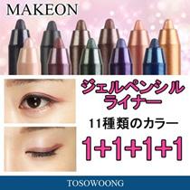 [MAKEON]1+1+1+1イベント実施中!新色追加発売!涙袋に最適メイクオン強力防水ェルペンシルライナー 24種/ウォータープルーフ/アイライナー+アイ / 韓国コスメ ペンシルアイライナー