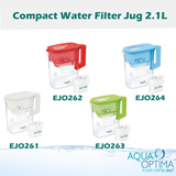 Aqua Optima Compact Water Filter Jug 2.1L (with filter included!!)
