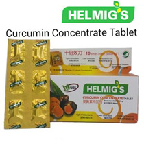 NATIONAL DAY PROMOTION! Helmigs Curcumin Concentrate Tablet (60 Tablets/box) BUY 2  $69