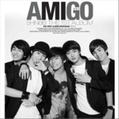 [韓国音楽]SHINee(シャイニー) - 1集 リパッケージ/Amigo【レビュー書いてプレゼント】★の画像