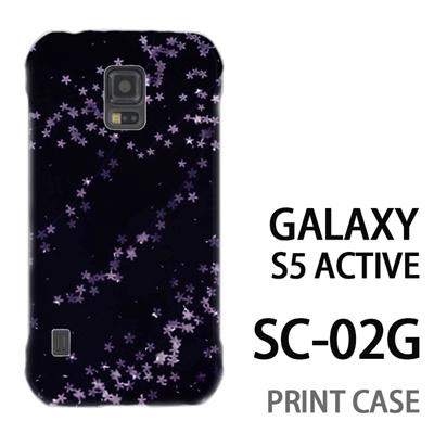 GALAXY S5 Active SC-02G 用『0312 夜桜模様』特殊印刷ケース【 galaxy s5 active SC-02G sc02g SC02G galaxys5 ギャラクシー ギャラクシーs5 アクティブ docomo ケース プリント カバー スマホケース スマホカバー】の画像
