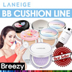 BREEZY★2017 New Cushion [LANEIGE] BB Cushion Series / Skin Veil Base Cushion /Pore Control/Whitening