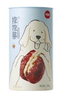 Jujube With Walnut 200g/ 百草味红枣夹核桃200g