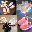 2017 kids shoes▶ led ▶ light up glowing sneakers▶jelly shoes▶Sandals ▶Slipper
