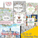 ★Coloring Book★ Secret Garden : An Inky Treasure Hunt and Coloring Book / Alice in the wonderland/ Cafe/ Enchanted Forest/ Hobby Game/ colouring book