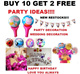 [buy 10 get 2 free] Children balloon /Party /Goodie bags/ Birthday/Kids/Peppa Frozen/Cars /Mickey/Spiderman Pooh Gold Silver Alphabet/Letter A - Z Party Wedding Decoration Proposal Love Marry Me