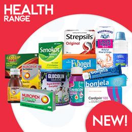 [RB] Healthcare Products - Fybogel/Bonjela/Lemsip/Gaviscon/Nurofen/Senokot/Glucolin/Cardiprin