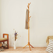 [AG] Solid Natural Wood Clothes Rack / Coat Rack ★ 175 cm