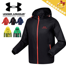 ▶UNDER ARMOUR Sports Jacket for Unisex◀Wind Proof/ Waterproof/ Breathable/ Quick Dry technology/ Outdoor Sports coat/ Wind Jacket-2 styles