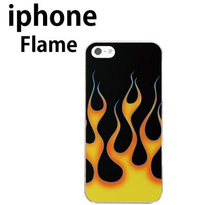 特殊印刷 iphone6/iphpne6 Plus/iPhone5/5S /iphone5C(フレイム 炎 )CCC-089【スマホケース/ハードケース/カバー】の画像