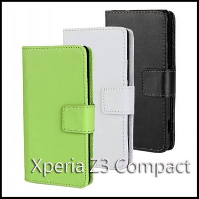 Xperia Z3 compact SO-02G/エクスペリア Z3 compact ビビッドカラーダイアリーレザーケース【レビューを書いてメール便送料無料】の画像