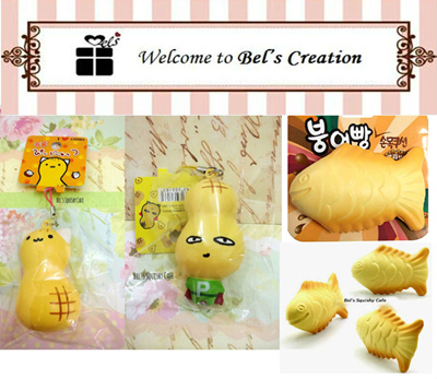 Jumbo Taiyaki Squishy : Qoo10 - Squishy Collectibles*Peanut Mascot Squishy*Korean Jumbo Taiyaki Fish*J... : Toys