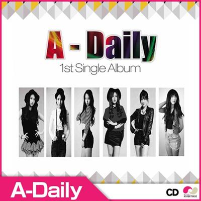 【予約12/4】【CD】A-DAILY - 1ST SINGLE ALBUM ◆ エーデイリー 正規1集 【K-POP】【CD】の画像