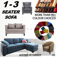 ◣CUSTOMIZATION◥ ★1-3 SEATER L-SHAPE/OTTOMAN SOFA ★Family Wellness ★Family Comfort ★Living Room