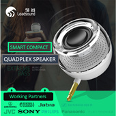 ★Must Have Listening Experience★ MINI YET POWERFUL 3.5 Jack HI5 Quality Speaker For All Your Devices [SG SELLER AFTER SALE SERVICE MADE EASY ]