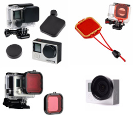 For GoPro Hero Lens Cover / Filter / Adapter