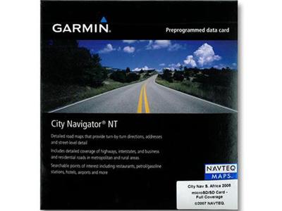 ガミンGARMINCityNavigator南米大陸microSDSD正規輸入品海外地図ソフト品番1175200