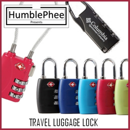 Authentic TSA travel luggage lock Number lock