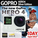 [Aug.27 Super 1Day Deal!!] NEW GOPRO HERO 4 SILVER EDITION/ Action Camera / Imported Set