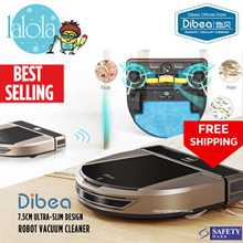 ⚡【⏰ FLASH SALE】Dibea®  D900 Rover Robot Vacuum Cleaner 🌟 Jap Motor 🌟Lithium Battery🌟More choices