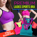 ^SweetangelShop^ Local Seller / Local Exchange SG50 with 50 Sports - Premium Sports Bra *Get Fit Burn those FATS!* Premium Ladies Sports Bra[Medium - High support]