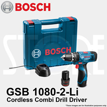 BOSCH GSB 1080-2-LI / GSB 120-LI 10.8V Professional Cordless Impact Drill Driver for drilling wall