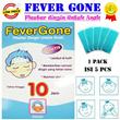 ✿ FEVERGONE ✿ | ❤ Plester Dingin untuk Baby / anak ❤ Tahan hingga 10 Jam ❤ Isi 1 Pack = 5 pcs ❤