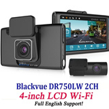 BlackVue DR750LW 2CH 16GB English version Car camera Vehicle Drive Dashboard Video Recorder 2Channel Front Rear Blackbox NEW