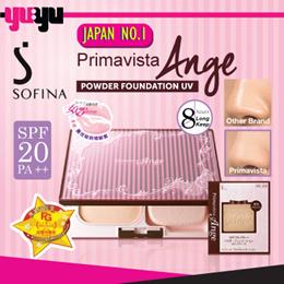 [SOFINA]♥女人我最大Sofina Primavista Ange Powder Foundation UV SPF20 PA++♥Shine Free♥Sebum Free♥Conceal♥