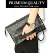 [FREESHIPPING] KOREA STYLE ★ [Premium Quality] PU Leather Clutch Bag Collection/Tas Clutch Impor