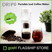 Dripo by Gosh! Portable Cold Brew Iced-Drip Coffee Maker Tumbler with FREE GIFT! [OFFICIAL SELLER]