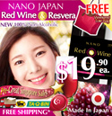 ONLY$19.90*ea. PRICE INCREASE IN JUNE-2015! JAPAN #1 SLIMMING RED WINE! [BOOST FATS-BURNING AND DIGESTION!!!]★ JAPAN #1 SLIMMING ★ 100% NON-ALCOHOLIC • Made in Japan. Certified HALAL