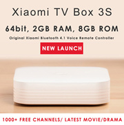 **READY STOCK** [Xiaomi TV Box]7th Gen Android Internet TV Box III 4K Version SAFETY MARK PLUG