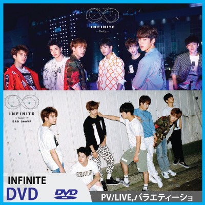 【K-POP DVD】◆INFINITE DVD ◆LIVEバラエティー週間アイドル【インフィニットDVD】