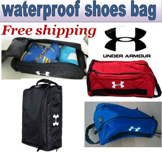 Free shipping!!UNDER ARMOUR Waterproof Shoes bag/Sports bags/pouch/Hand bag/Shoe Bag Deals for only S$8.9 instead of S$0