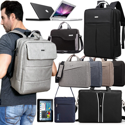 New Arrival!! Men Laptop Bag Shoulder Bags Backpack Ipad Bag Business Bags for 10.1/11.6/12.1/12.5/13.3/14/15.5/15.6/17.3 Laptop Deals for only S$39.9 instead of S$0