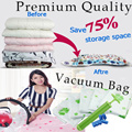 BIG SALE LIMITED TIME ONLY! [Premium Quality Vacuum Bags][Vacuum storage bag][Compressed seal bag][Hand roll seal bag][Travel bag][Travel organizer bag][Perfect for home and travel]