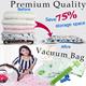 *Restock*[Premium Quality Vacuum Bags][Vacuum storage bag][Hand roll seal bag]Travel bag Perfect for luggage organizer and home storage